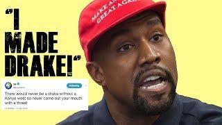 Kanye West EXPLODES on Drake