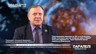 «Паралелі»  Микола Стрижак: Ринок землі чи обіг земель?  Як провести земельну реформу?
