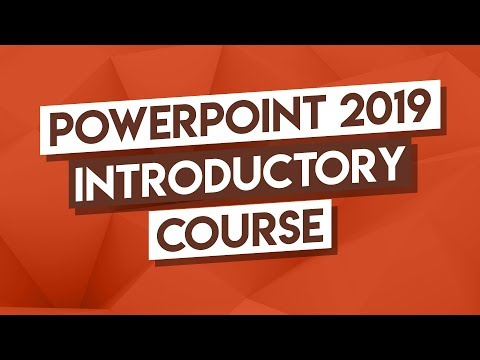 Microsoft PowerPoint Tutorial: 3-Hour PowerPoint Course - How To Use PowerPoint 2019