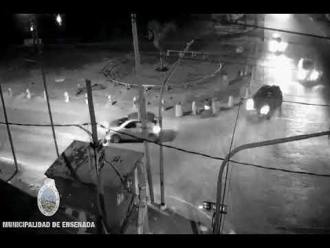 Así golpearon a un taxista por una discusión de tránsito en Ensenada. Está grave