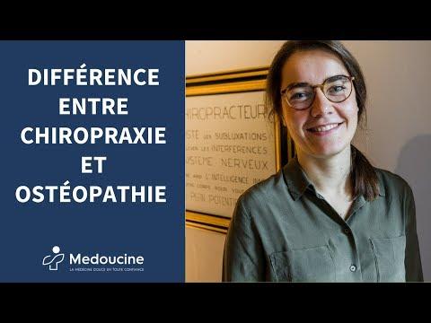 👐 Quelle est la DIFFÉRENCE entre l'OSTÉOPATHIE et la CHIROPRAXIE ? Par France Deffrennes 👐