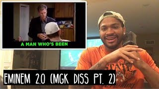 Eminem 2.0 - Pac Man (MGK Diss Part 2) REACTION