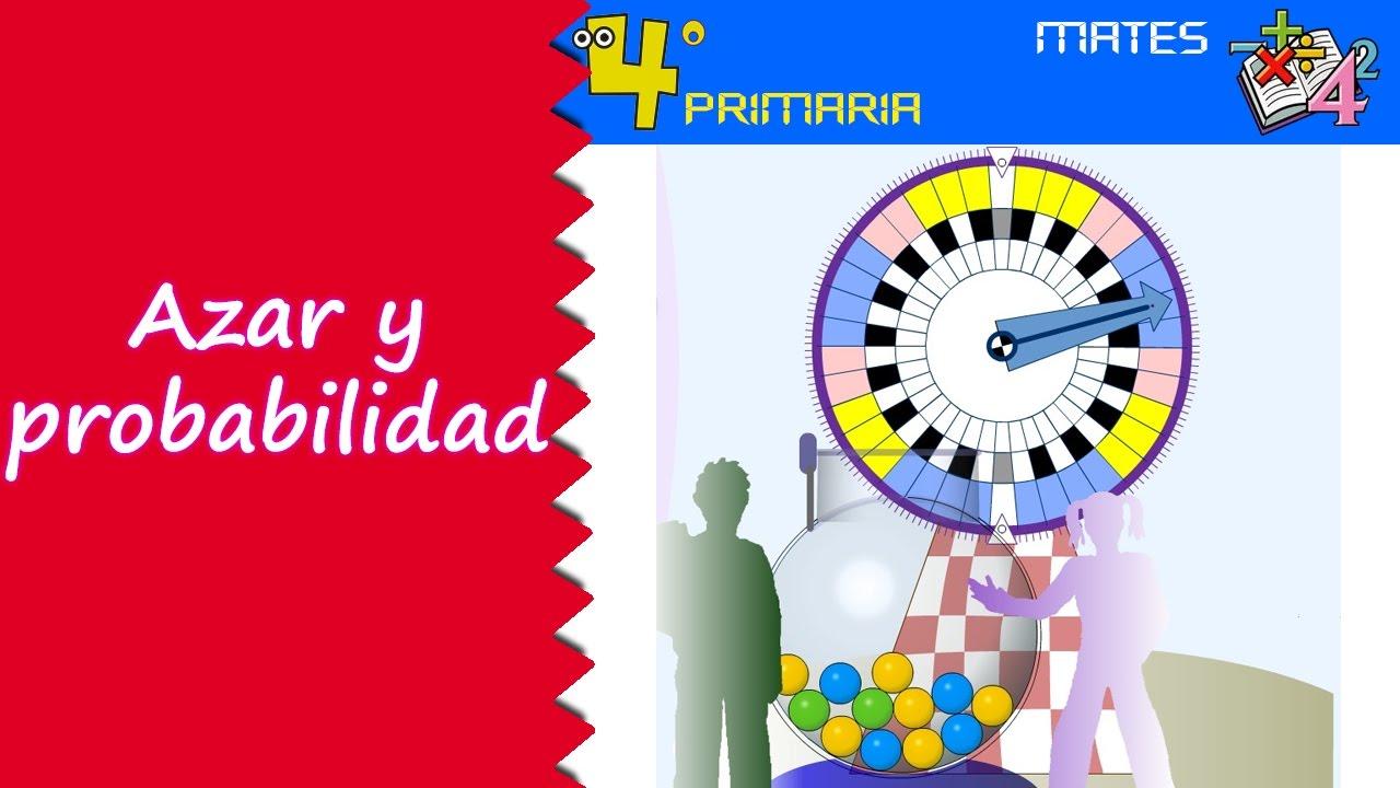 Matemáticas. 4º Primaria. Tema 10. Azar y probabilidad