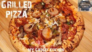 The Absolute BEST Grilled Pizza 🤤   Ninja Foodi Grill   Air Fryer Friendly   My Gadget Kitchen #223