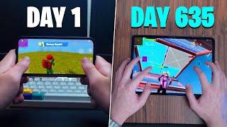 My 635 Day Fortnite Mobile Progression