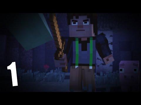 Прохождение Minecraft: Story Mode #1 - Спасаем друга!