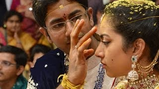 Balakrishna Daughter Tejaswini Wedding Ceremony