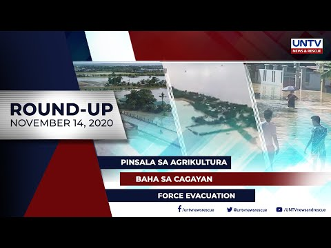[UNTV]  UNTV NEWS ROUNDUP: Mga balitang dapat mong malaman (November 14, 2020)