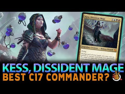 Is Kess, Dissident Mage the Best Commander from C17? | The Command Zone #176 | Magic the Gathering