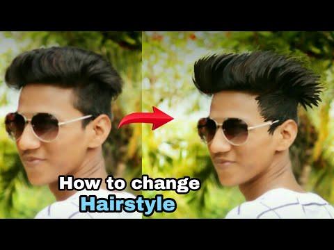 Picsart Haircut Photo