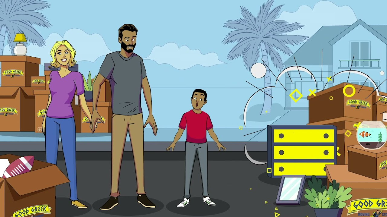 Spero the Hero Battles Villain Movers - Animated Series - Good Greek Moving & Storage - Ep 2