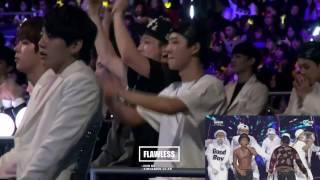 iKON watching and performing Good Boy
