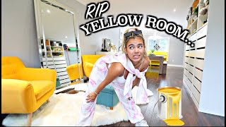 The End Of An Era... Saying GOODBYE To My Yellow Room