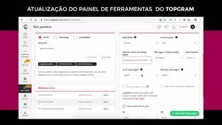 Topgram • Atualizações na Plataforma
