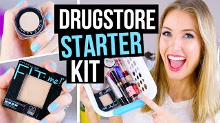 Beginner Makeup Tips & Starter Kit || Drugstore Faves!
