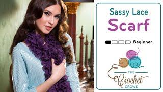 Knit Sassy Lace Scarf