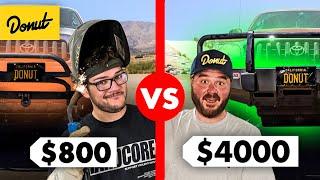 $800 DIY Off-Road Armor vs. $4000 Aftermarket Armor