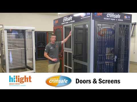 Crimsafe Doors and Screens