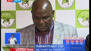 IEBC to meet with all presidential candidates