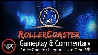 The VR Shop - RollerCoaster Legends - Gear VR Gameplay