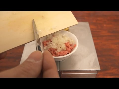 Mini Food Cheeseburger 食べれるミニチュアチーズバーガー / Edible Miniature Cheeseburgers!