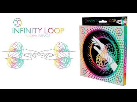 Youtube Video for Infinity Loop Flow Rings - Kinetic Marvel!