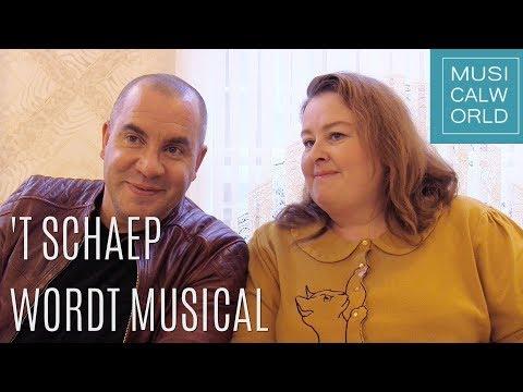 Nieuwe musical 't Schaep met de 5 Pooten wordt uitgeprobeerd in Dronten