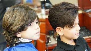 Classic Kids Haircut With Modern 2018 Touch Tutorial