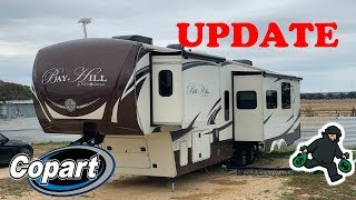 I Bought A Luxury 5th Wheel RV From Copart I Hate Thieves *UPDATE*