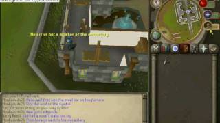 How to make a holy symbol in runescape