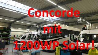 WCS Goch: Concorde mit 1200Wp Solar! Der Hammer!