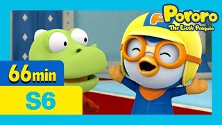 Pororo Season 6 | Rody and Tu-tu's Great Adventure and more (60mins) | Pororo the little penguin