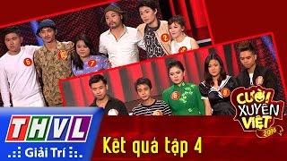 THVL | Cười xuyên Việt 2016 - Tập 4: Công bố kết quả
