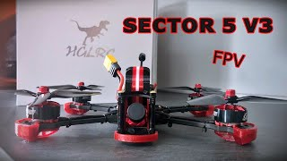 HGLRC SECTOR 5 V3 | DRONE Freestyle con GPS !!! Unboxing con Ely FPV ????