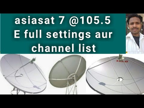 Download Asiasat 7 105 5 Advance Setting And Channel List 2018 Video