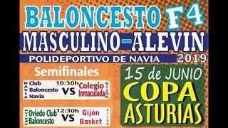 Copa Asturias 2019 Alevín Masculino   CB Navia Vs Col. Inmaculada