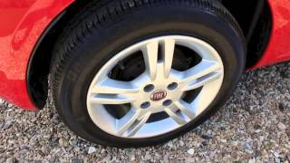 2007 FIAT GRANDE PUNTO ACTIVE RED