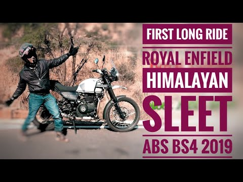 First Long Ride On Royal Enfield Himalayan Sleet Abs Bs4 2019
