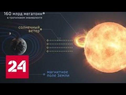 Над Землей грянет самая мощная магнитная буря за последние 20 лет видео