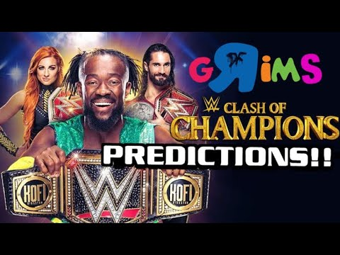 WWE Clash Of Champions PPV PREDICTIONS by Grim Experience