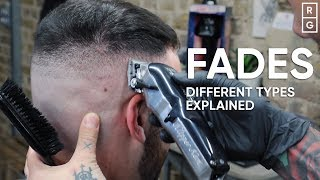 Different Types Of Fades Explained - Low Vs Mid Vs High Vs Taper Fade Haircuts