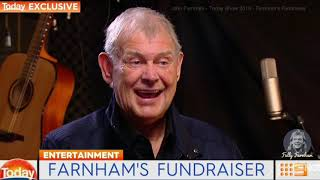 John Farnham - Today Show 2018 - Farnham's Fundraiser