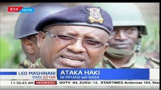 Polisi hawajaonyesha kufuatilia bwana aliyegongwa katika maandamano ya NASA jana
