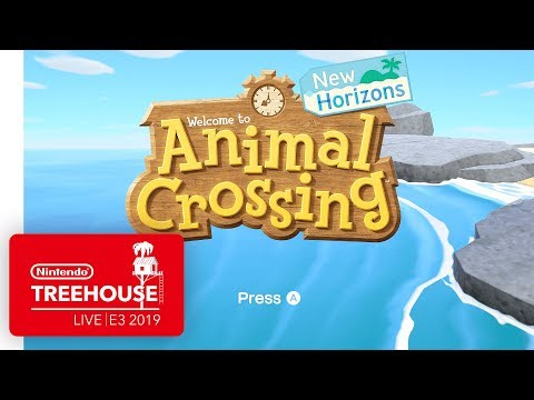 Animal Crossing: New Horizons Gameplay - Nintendo Treehouse: Live | E3 2019 thumbnail