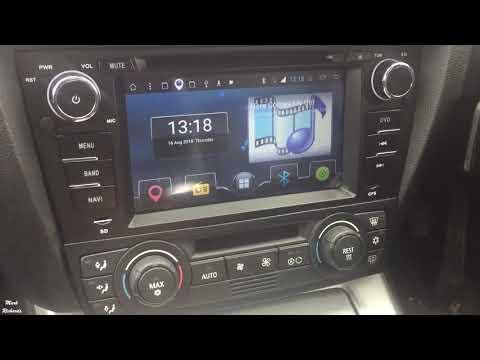 Joying BMW E90 test steering wheel control canbus quad core
