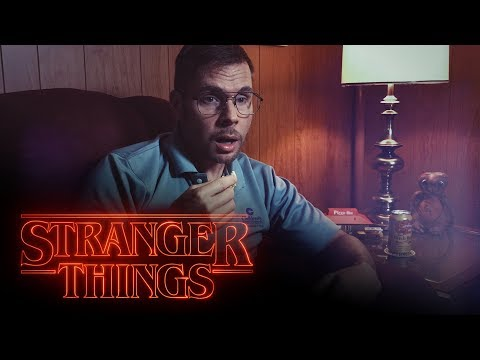 Dad Watches Stranger Things