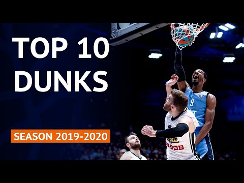 Top 10 Slams   VTB United League Season 2019-20