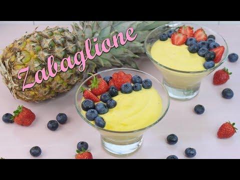ZABAGLIONE REZEPT | Zabaione Creme selber machen [Marsala Rezepte] Nachtisch / Dessert im Glas