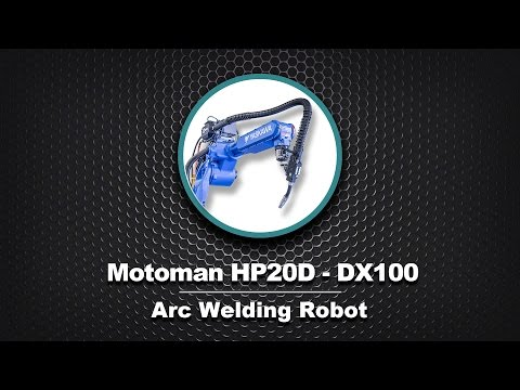 Motoman HP20D DX100 Arc Welding Robot