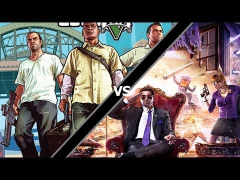 Grand Theft Auto 5 vs. Saints Row 4